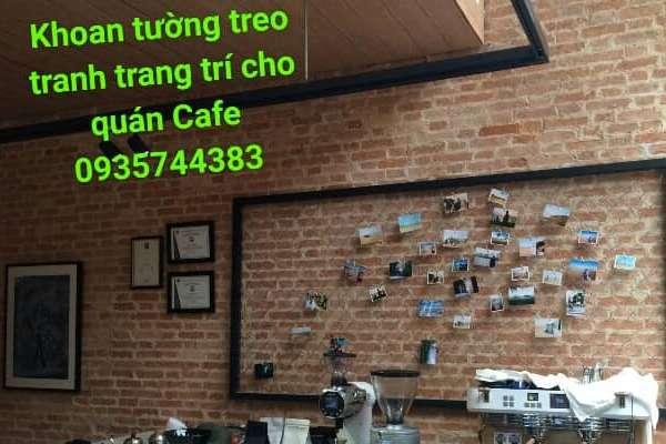 Thợ khoan tường treo đồ tại quận Phú Nhuận