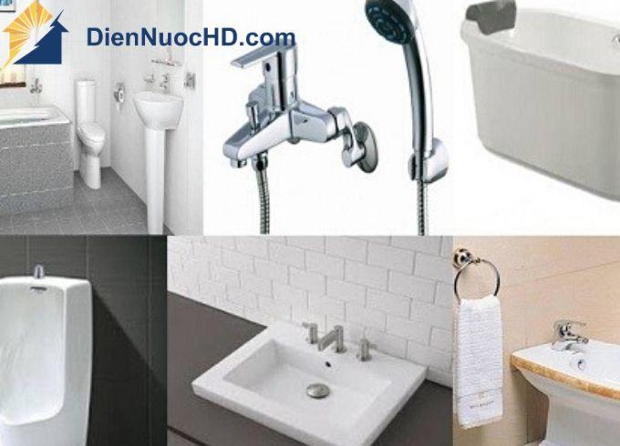 Lắt đặt thiết bị cho phòng tắm, nhà vệ sinh tại Quận Gò Vấp