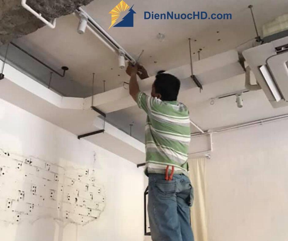 Thi công lắp đặt điện nước tại Quận Gò Vấp