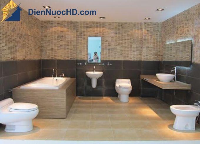 Thi công và lắp đặt thiết bị nhà về sinh - phòng tắm tại Thành Phố Hồ Chí Minh