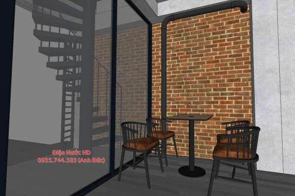Thiết kế quán cà phê trọn gói tại quận 1