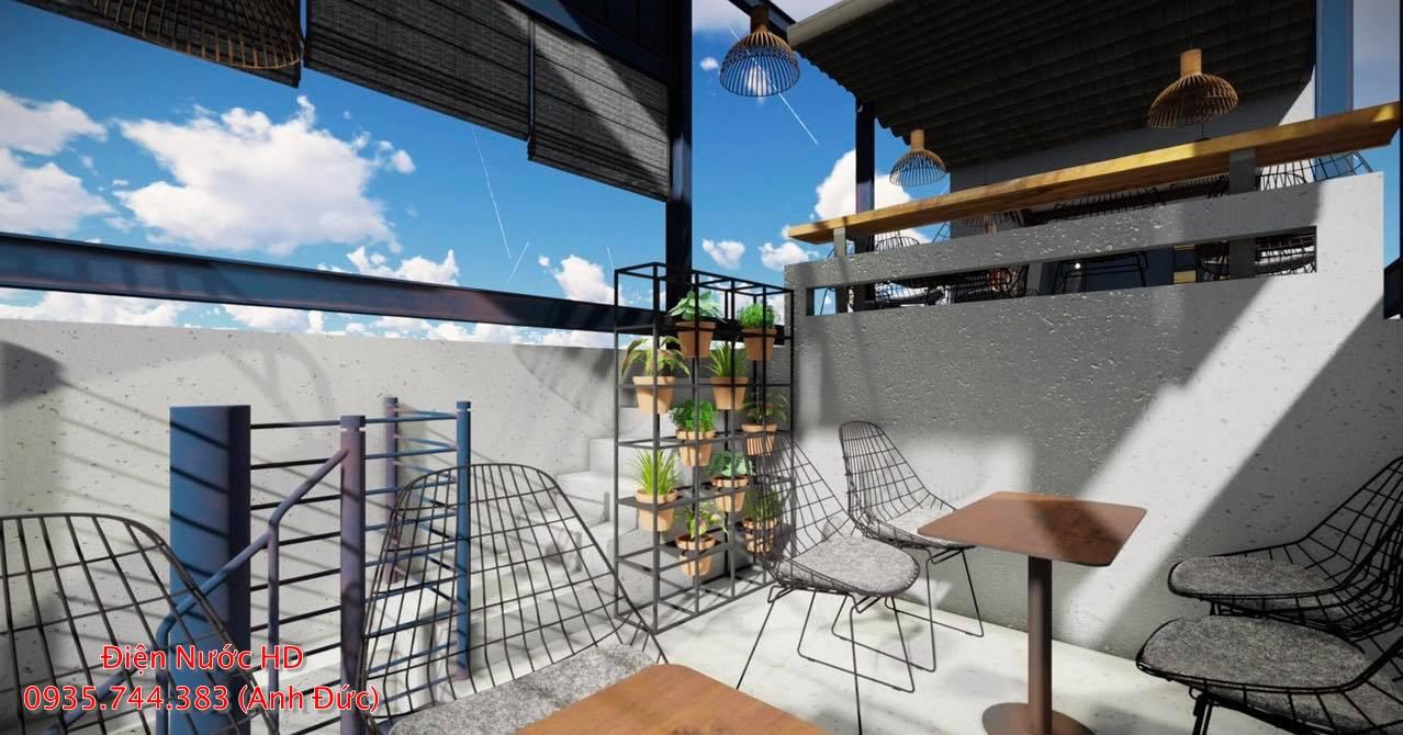 Thiết kế quán cà phê trọn gói tại quận 4