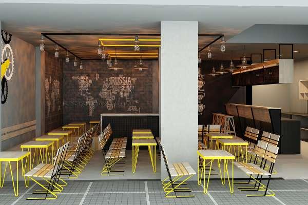 Thiết kế quán cà phê trọn gói tại quận 5