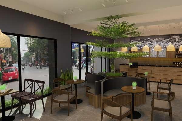 Thiết kế quán cà phê trọn gói tại quận 8