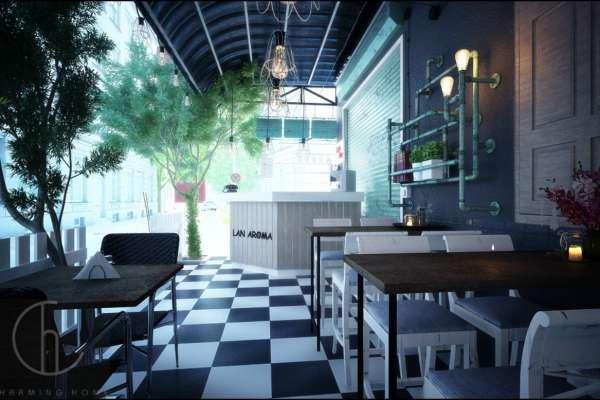 Thiết kế quán cà phê trọn gói tại quận 10