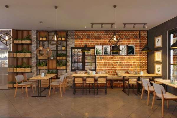 Thiết kế quán cà phê trọn gói tại quận Tân Phú