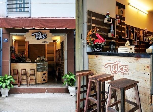Thiết kế quán cà phê trọn gói tại quận Bình Thạnh