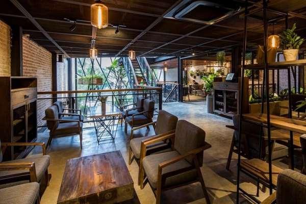 Thiết kế quán cà phê trọn gói tại quận Bình Chánh