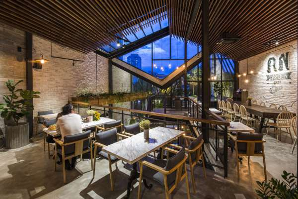 Thiết kế quán cà phê trọn gói tại quận Bình Tân