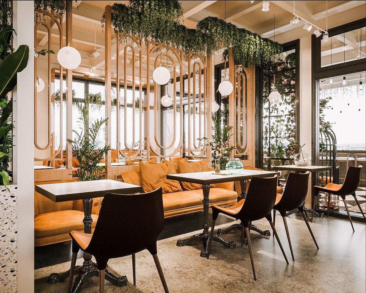 Trang trí thiết kế quán cà phê đẹp tại TPHCM
